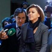 María Dolores de Cospedal, la ministra de Defensa