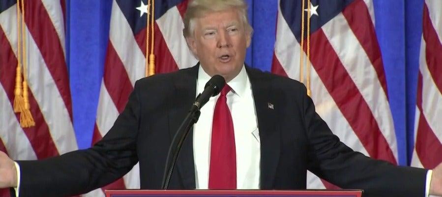 Frame 1.75291 de: Trump reconoce que Rusia estuvo detrás de los ciberataques realizados en el proceso electoral