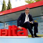 El director de la Vuelta, Javier Guillén.