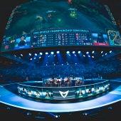 Momento de una competición de 'League of Legends', uno de los juegos más populares de los eSports