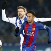 Illarramendi persigue a Neymar