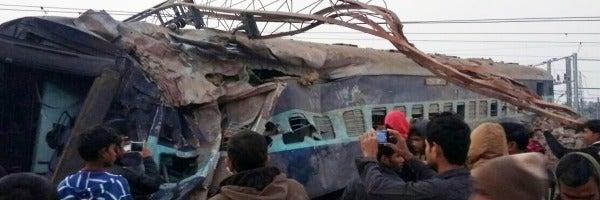 Accidente de tren en la India