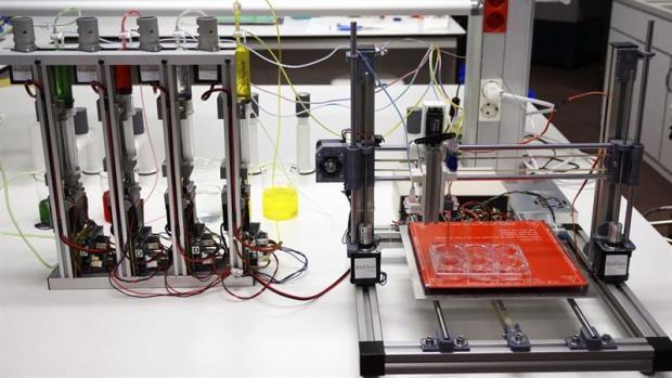 Científicos españoles diseñan una bioimpresora 3D capaz de crear piel humana