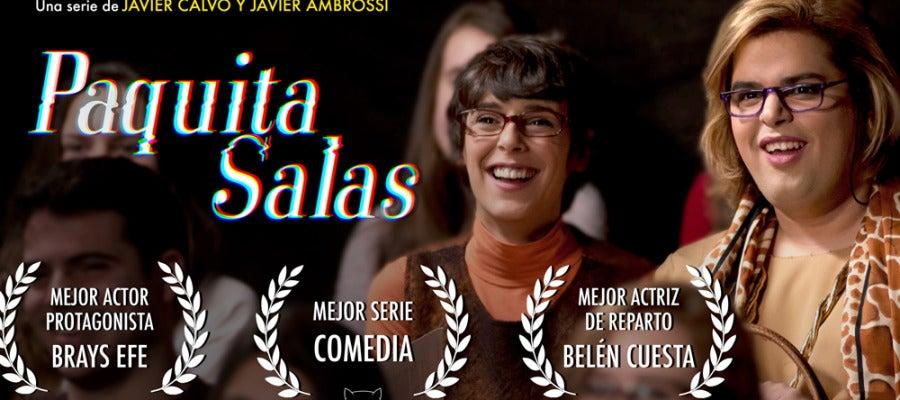 Paquita Salas triunfa en los Premios Feroz
