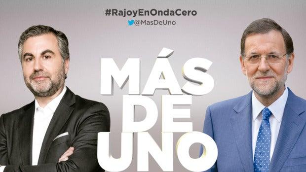 Rajoy estará en Más de uno el próximo jueves 26 de enero