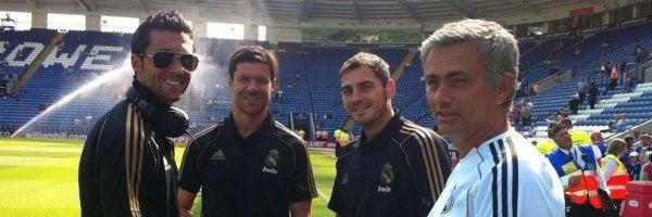 """Iker Casillas: """"Cuando vi la foto que puso Arbeloa para felicitar a Mou me reí"""""""