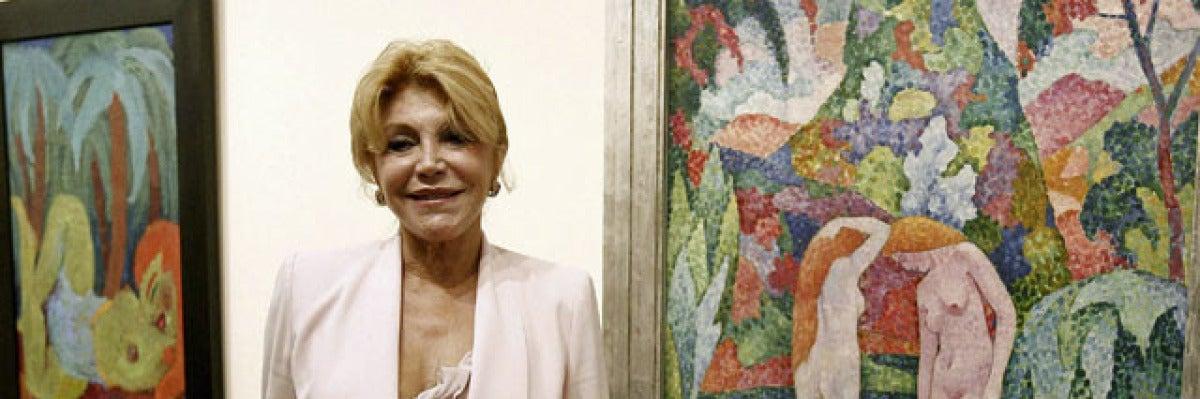 """Carmen Thyssen: """"El arte es para su exposición, no para guardarlo"""""""