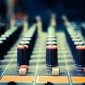 Mesa de estudio de radio