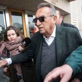 FOTO DE ARCHIVO || Carlos Fabra a su llegada a la Ciudad de la Justicia de Castellón