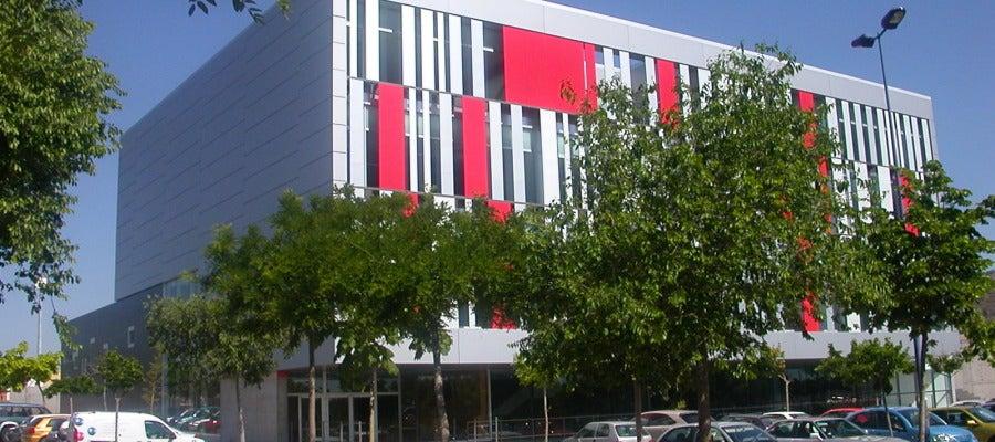 Edificio FUE UJI en el Campus de Riu Sec.