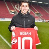 El delantero del Mainz 05, Bojan Krkic.