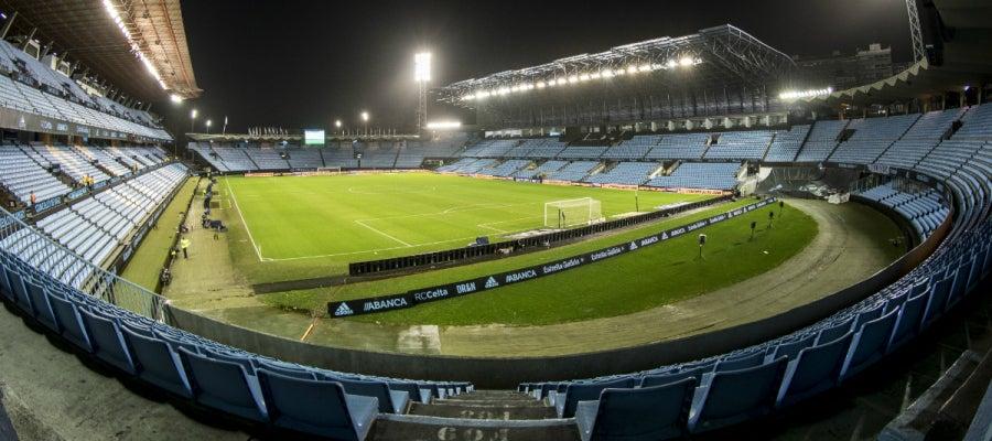 El estadio de Balaídos