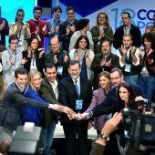 Mariano Rajoy, presidente del PP y del Gobierno de España