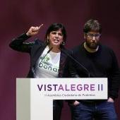 Teresa Rodríguez y Miguel Urbán