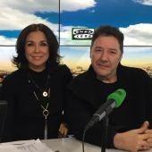 Isabel Gemio y Carlos Goñi
