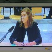 Ana Mato durante su declaración