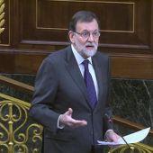 """Frame 125.826582 de: Rajoy ve """"absurdo"""" el planteamiento de ERC y Rufián le mantiene el pulso: """"Nos vemos en las urnas"""""""