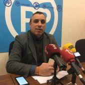 Vicente Granero, portavoz adjunto del Grupo Municipal del PP de Elche.