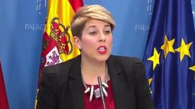 """Noelia Arroyo: """"PSOE y Podemos han impedido que Pedro Antonio Sánchez vaya a dar su versión de los hechos"""""""