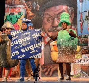 'No valemos un duro', la chirigota de 'El Canijo' en el Carnaval de Cádiz