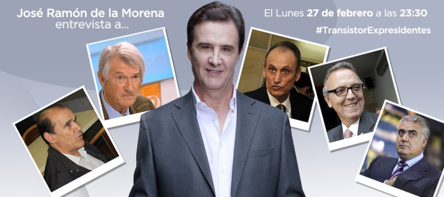 De la Morena entrevista a los expresidentes del fútbol español.
