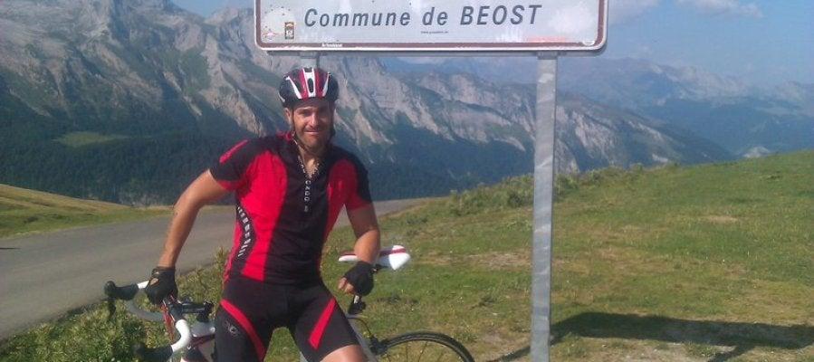 Óscar Bautista, ciclista atropellado por camión que se dio a la fuga
