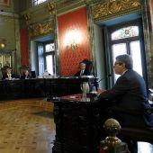 Francesc Homs en el juicio por el 9N