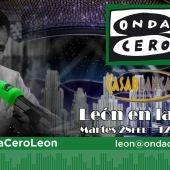 Onda Cero León desde el Restaurante Casablanca