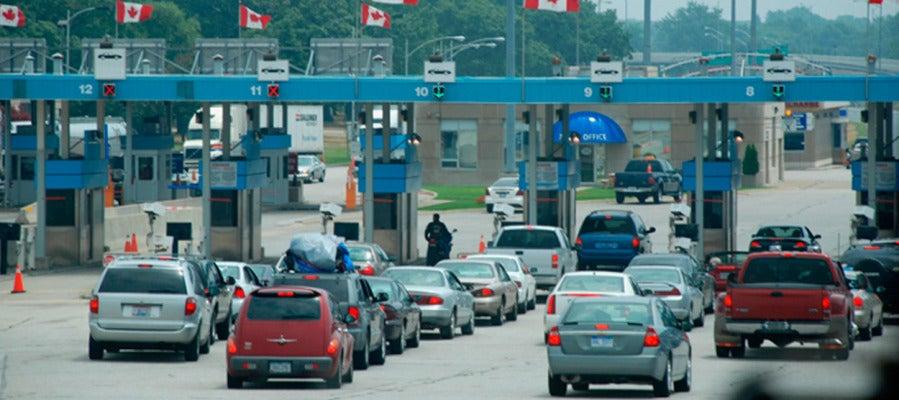 Frontera de Estados Unidos con Canadá