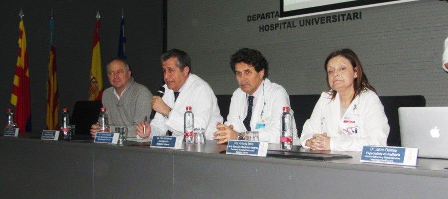 El Hospital General Universitario de Elche ha acogido una jornada sobre enfermedades raras.