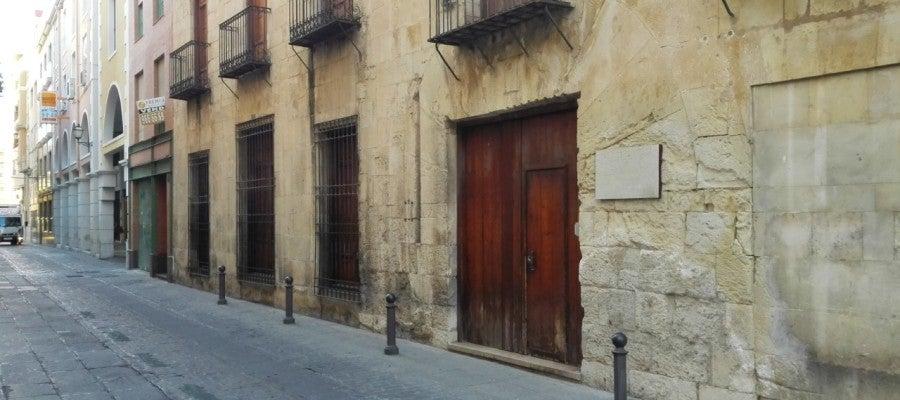Sede del Patronato del Misteri d'Elx en la calle Major de la Vila.