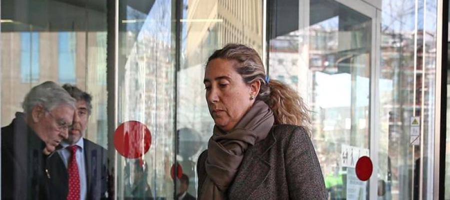 La exdirectora financiera del Palau de la Música, Gemma Montull
