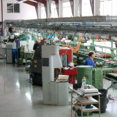 Fábrica de calzado.