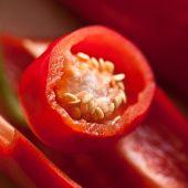 Si tomamos crudos los pimientos rojos obtendremos una gran cantidad de vitaminas y de magnesio