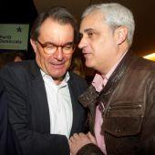 Artur Mas y Germà Gordó