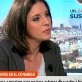 Irene Montero en Espejo Pública
