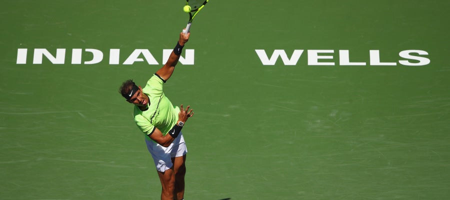 Rafa Nadal en el Indian Wells