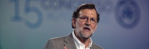 Mariano Rajoy en la clausura del Congreso del PP en Andalucía