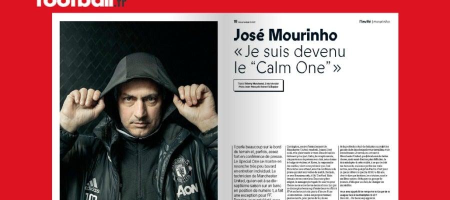 La portada de 'France Football', con Mourinho de protagonista