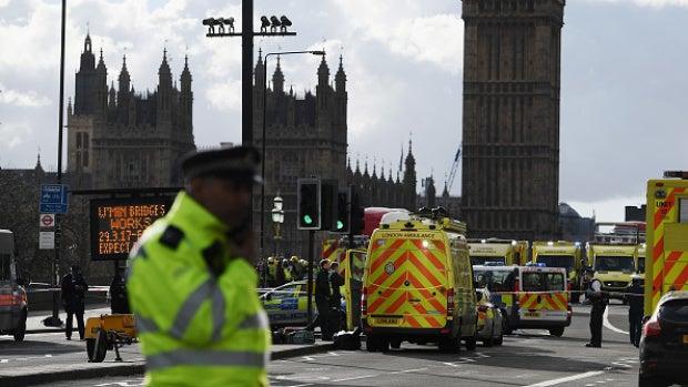 La policía británica cree que el atacante del Parlamento es un lobo solitario