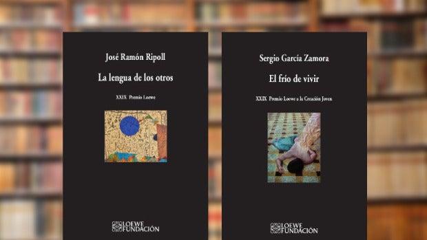 José Ramón Ripoll y Sergio García Zamora recogen el Premio Loewe de Poesía 2016