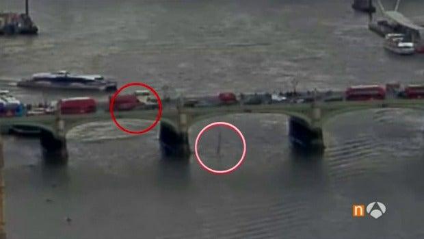 El vídeo que muestra cómo fue el atentado de Londres