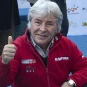 El 13 veces campeón del mundo, Ángel Nieto.