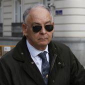 El ex número dos de la Policía, Eugenio Pino, a su salida de la Audiencia Nacional