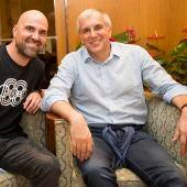 Zeljko Obradovic con David Camps