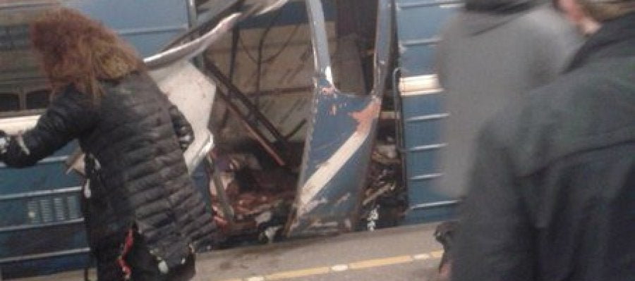 Explosión San Petersburgo el pasado 3 de abril
