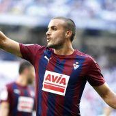 El centrocampista del Eibar, Pedro León.
