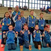 El Club Karate do Shotokan Chazarra cuajó una gran actuación en el Autonómico.