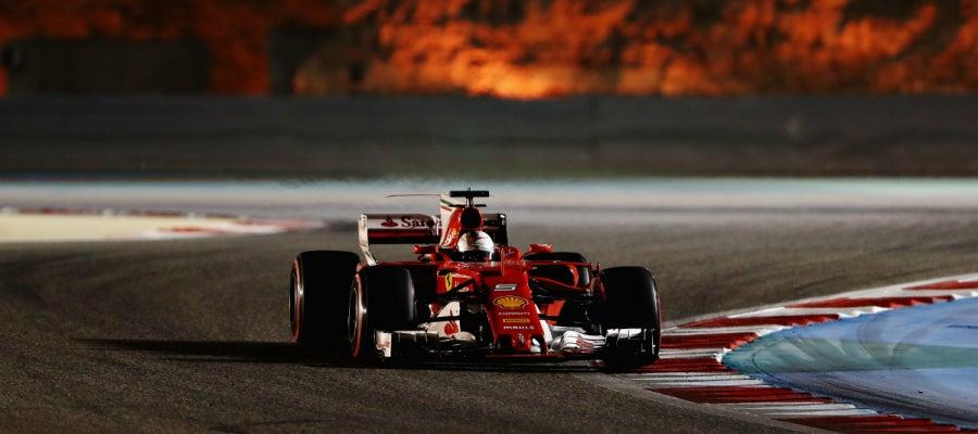 Vettel, en Baréin
