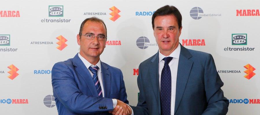 Juan Ignacio Gallardo y José Ramón de la Morena